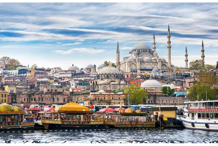 Модульная картина Столица Византии