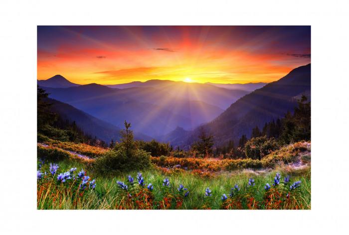 Фотокартина Рассвет в горах