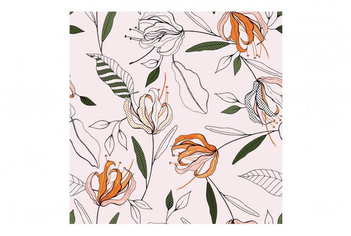 Картина Оранжевые цветы
